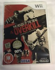 The House of the Dead Overkill (Nintendo Wii game) PAL shooter by Sega