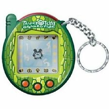 Tamagotchi Connection Version 3 Green Snake Reptile - New In Package - Very Rare