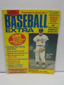 1971 Summer BASEBALL EXTRA Magazine * World Series * Tom Seaver * Juan Marichal