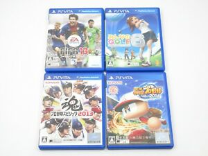Fifa Soccer Everybodys Golf Professional Basebal set PS VITA PlayStation Japan
