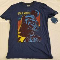 Star Wars Blue Shirt NWT NEW Sith Lord Darth Vader Fifth Sun Mens Medium