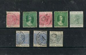 GRENADA- Lot of old stamps