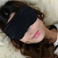 2X/set 100% Soft Sleep Cover Eye Mask Sleeping Blindfold Rest Travel EyeshadIHS