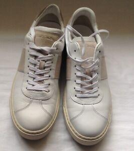 Paul Smith Men's Shoe Levon White Leather Trainers.