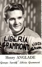 CARTE POSTALE HENRY ANGLADE Années 1960 Cyclisme TOUR DE FRANCE