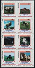 Equatorial Guinea MI 805-12 sheetlet MNH Horses