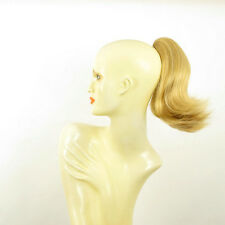 Extension Posticcio coda di cavallo biondo chiaro dorato ref 9 en lg26 peruk