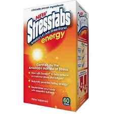 Stresstabs Energy Tablets 60 ea (Pack of 8)