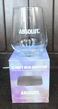 Absolut Vodka Glass  - BNIB