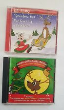 Lot of 2 Dr Elmo CDs GRANDMA GOT RUN OVER BY A REINDEER Christmas Funny Songs