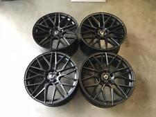 """20"""" Cades HERA Alloy Wheels - SATIN BLACK - BMW F30 F31 F32 F33 F36 3 4 Series"""