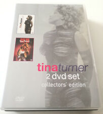 TINA TURNER COLLECTOR'S EDITION 2 DVD SET CELEBRATE! - LIVE IN RIO '88 RARO!!!
