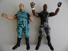 The Dudley Boyz WWE WWF Titan Tron Wrestling Figures Jakks 1999