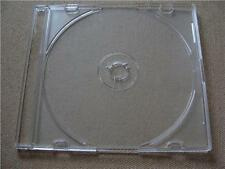 Case: CD Slimline - 2 - For 1 Disc Each Jewel Multimedia Clear