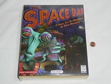 NEW The Space Bar PC Computer Game Big Box SEALED Segasoft spacebar Sega 1997