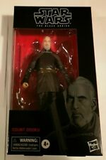 """STAR WARS COUNT DOOKU BLACK SERIES 6"""" SITH LORD ACTION FIGURE IN STOCK NEW RARE"""