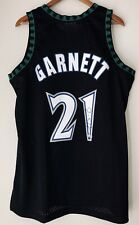 Kevin Garnett Timberwolves Signed Mitchell & Ness NBA Swingman Jersey FANATICS