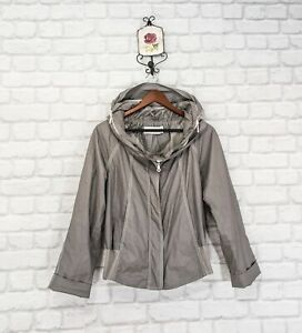 Annette Gortz Designer Womens Jacket Hoodie Grey  size 40