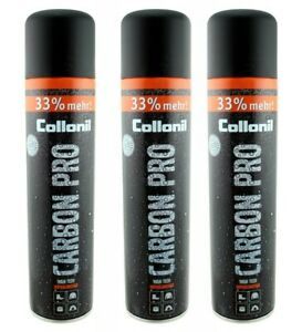 3 X Collonil Carbon Pro Imprägnierspray 400 ml (28,62 € pro Liter) inkl Vers. A