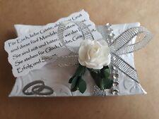 Hochzeitgeschenke Hochzeitsmandeln Gastgeschenke Hochzeit  5 Mandeln und Spruch