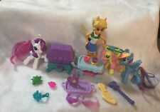 My Little Pony Castle Accessories Replacement Treasure Chest Push Table Lot