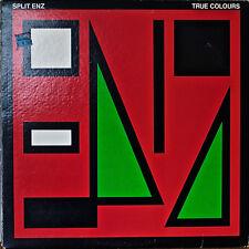 SPLIT ENZ: True Colours-NM1980LP SIDE 2 LASER ETCHED