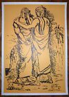 Giorgio de Chirico Lithographie signée surréaliste peinture métaphysique