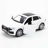 1:36 2019 Audi Q8 SUV Model Car Diecast Vehicle Kids Toy Pull Back White Gift