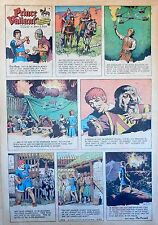 Prince Valiant by Hal Foster - scarce full page Sunday comic - February 22, 1970