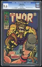 Thor #155 CGC 9.6 WHITE Pages (Marvel 7/68) Mangog & Recorder appearances