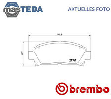 Brembo Front Set Brake Pads Brake Shoes P 83 028 P NEW OE QUALITY