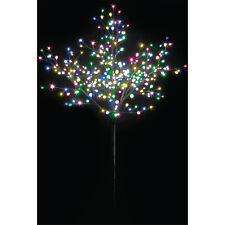 1.8M 350LED MULTI COLOUR BONSAI BERRY CHRISTMAS OUTDOOR TREE