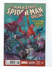 Amazing Spider-Man Special # 1 Marvel Signed By Jamal Campbell