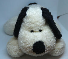 "DAKIN ""Rufus"" Plush Dog 15″ White & Black Soft Floppy Puppy Animal Toy Applause"