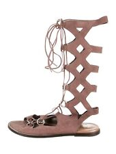 ROBERTO CAVALLI Lace-Up Gladiator Shoes Sandals Size: IT 36 /6 Made in Italy