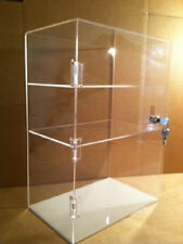Acrylic Lucite Countertop Display Case 12x7x17.5 (choose shelf spacing) E-Cigs