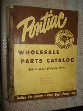 1935-1955 Pontiac Parts Book Catalog Book Original Wholesale Catalog Part #'S