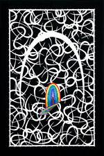 """LUCAS SAMARAS Signed 1972 Original Color Serigraph - """"Hook"""""""