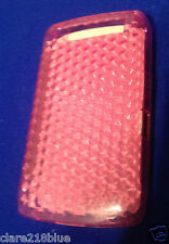 Blackberry Storm 9550/9520 Hex Pink Red Gel Mobile Phone Case Cover Stocking