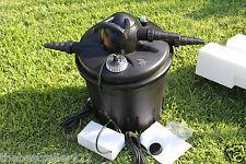 7000 gallon  UV-C BIO Pond Filter w/ 24 Watt Pond UV  Light