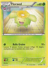 Floravol-Noir & Blanc- Dragons Exaltés - 2/124 -Carte Pokemon Française Neuve