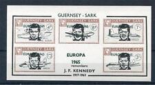 GUERNSEY-SARK JFK SHEET UNMOUNTED MINT