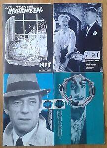 Single/individual NFT (National Film Theatre) & Arts Cinema booklets