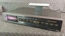 Sony ST-S222ES AM/FM Stereo Tuner - Wave Optimizer - Audiophile Quality