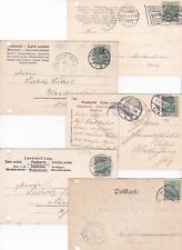 DR: 5 Karten mit Germania alles so um 1905