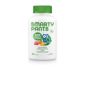 Smarty Pants Kids Formula and Fiber Gummies, 90 counT.
