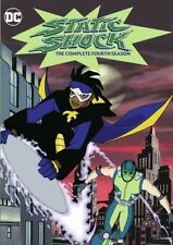 Static Shock: Complete Fourth Season (2018, DVD NEUF)2 DISC SET