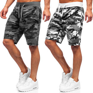 Kurzhose Sporthose Shorts Bermudas Kurze Jogging Fitness Herren Mix BOLF Camo