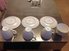VINTAGE ARZBERG CUPS X 4 AND SAUCERS X3
