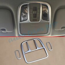3X ABS Chrome Inner Reading Light Lamp Cover Trim For Kia Sportage(QL) 2016 2017